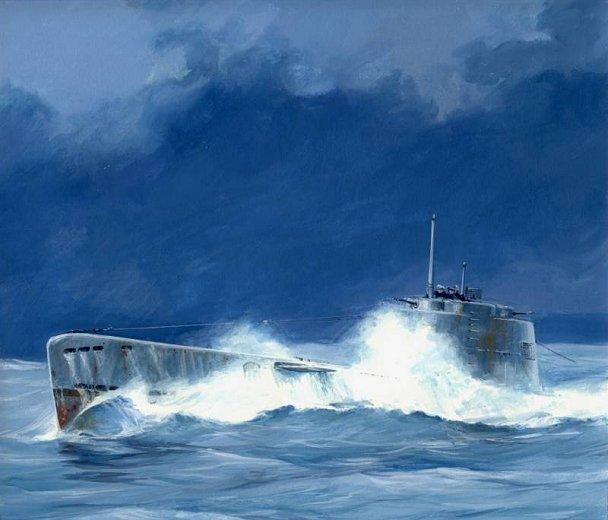 Midget molch submarine