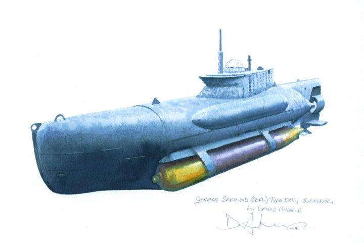 Seehund midget submarine share