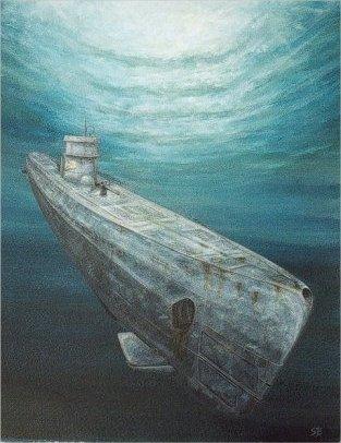 SubArt.net - WW2 U-boat U124